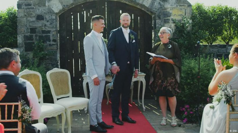 A wedding in Ireland
