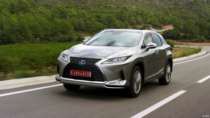Celebration: Lexus RX450h
