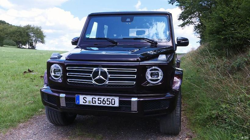 Test it: Mercedes G 500
