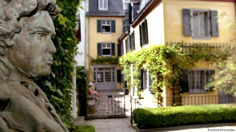 The Beethoven House in Bonn