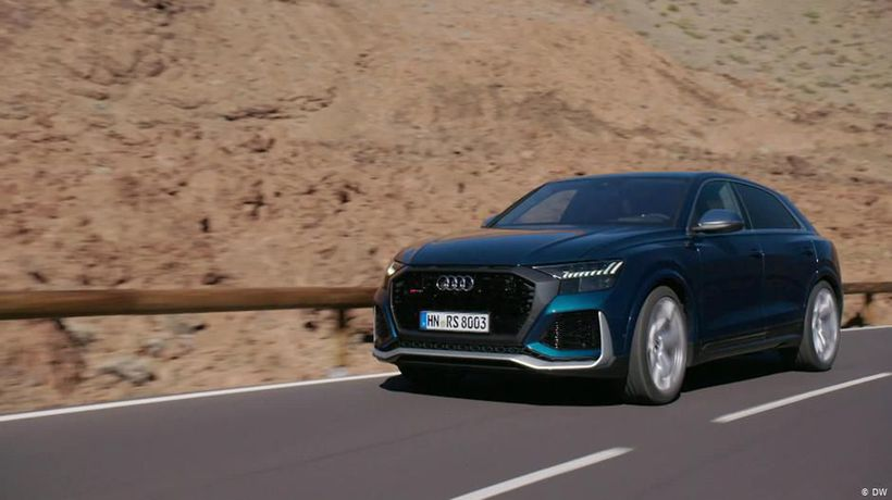 Check: Audi's big show-off RS Q8