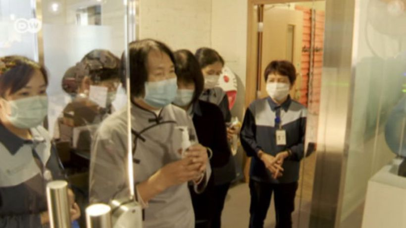 Hong Kong activists shift focus to coronavirus