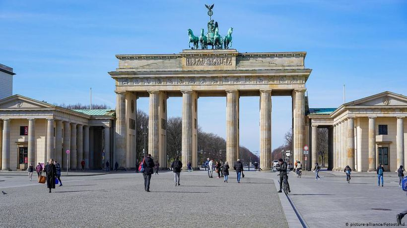 Coronavirus empties out Berlin's public spaces