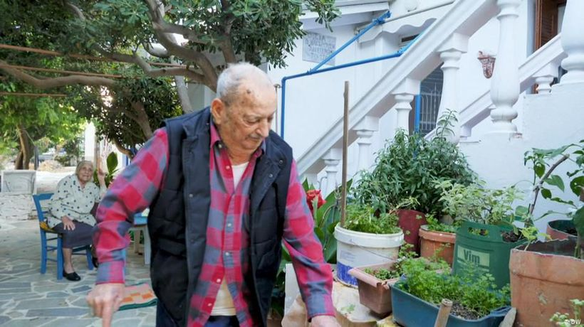 Greece: The island of hundred-year-olds