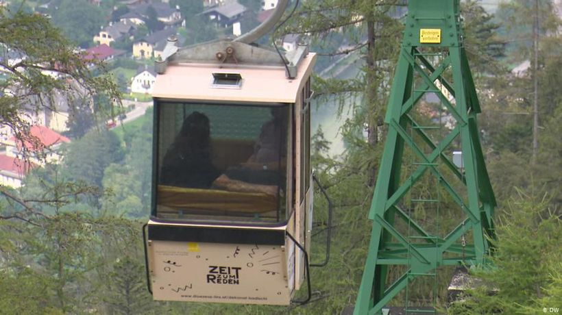 Austria: Cable-car confessional