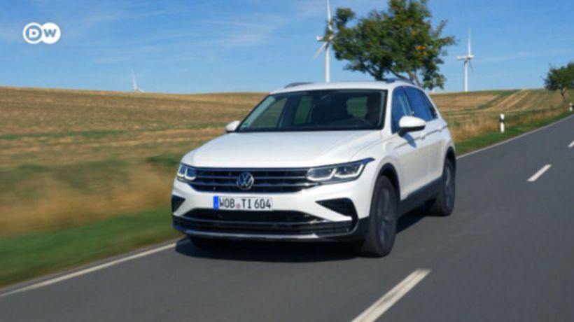 VW Tiguan as a Plug-in Hybrid