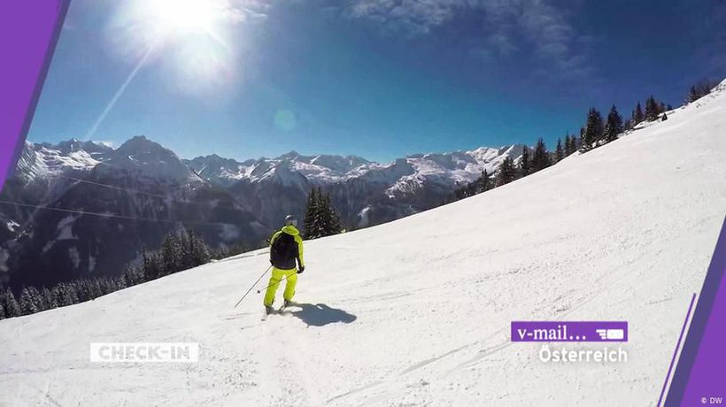 Viewer video: Skiing in Austria