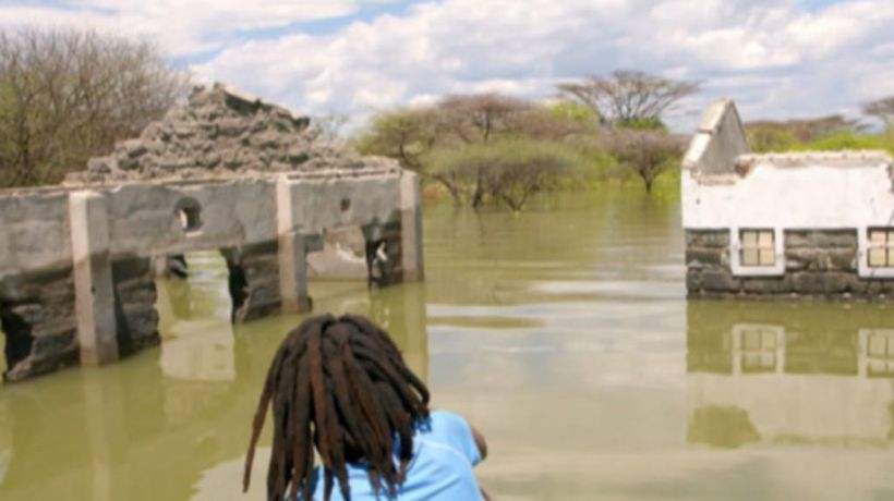 Rising water levels threaten Kenya's Rift Valley