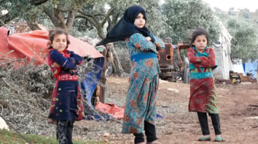 Misery in refugee camps in Idlib