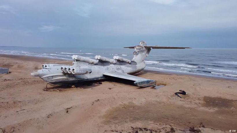 Russia's 'Sea Monster' - The ekranoplan