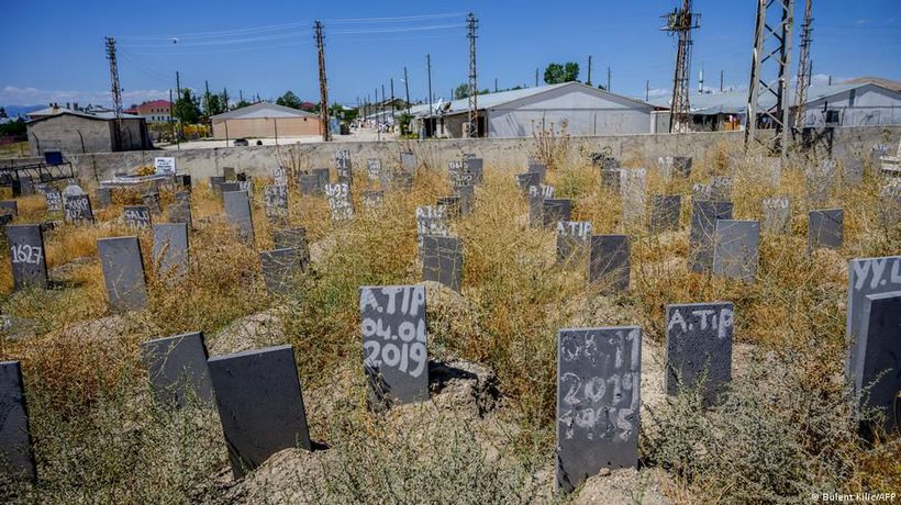 Turkey: A cemetery for the nameless dead