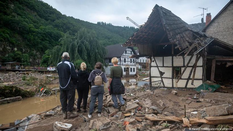 Deadly floods in Germany