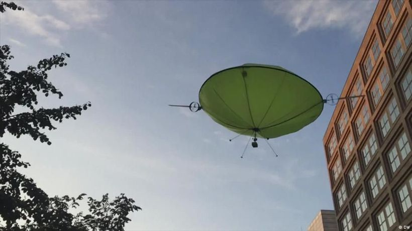 Scaling the heights - the helium drone