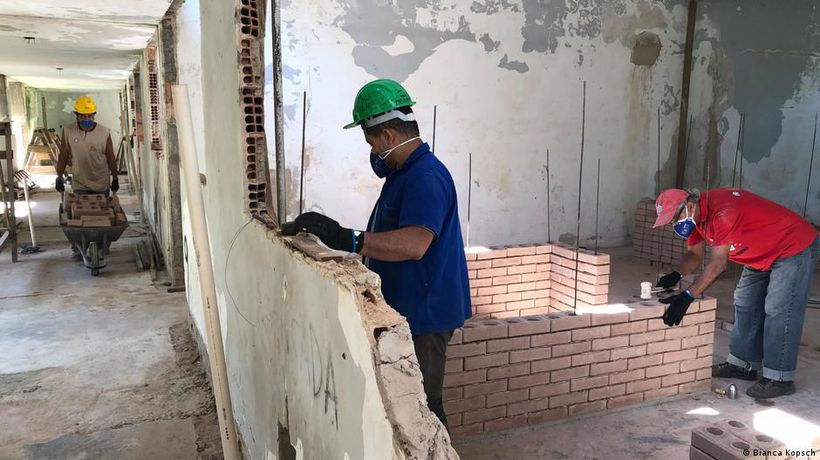 Rio: From homeless to home builder