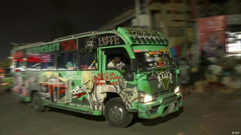 Pimped-out buses in Nairobi