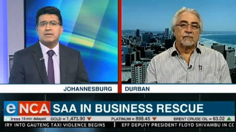SAA Business Rescue interview with Louis Klopper