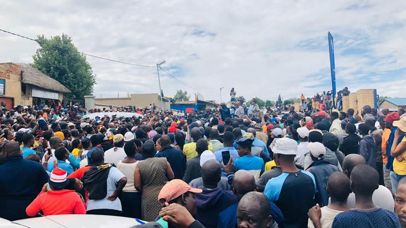 Diepsloot Protests continue