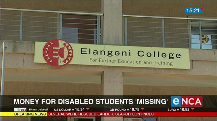 Money for disabled students 'missing'