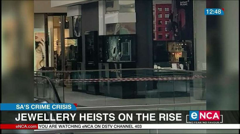 Jewellery heists on the rise in SA