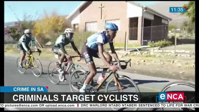 Criminals target cyclists