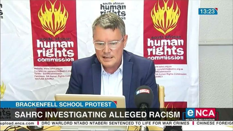 SAHRC to investigate Brackenfell High alleged racism