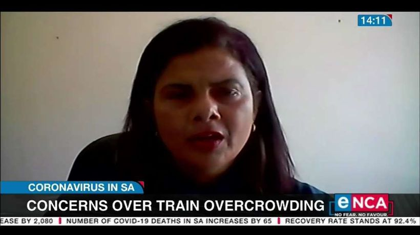Concerns over train overcrowding in Durban