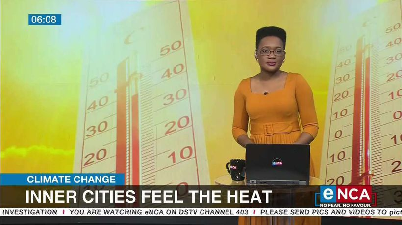 Inner cities feel the heat as a climate changes