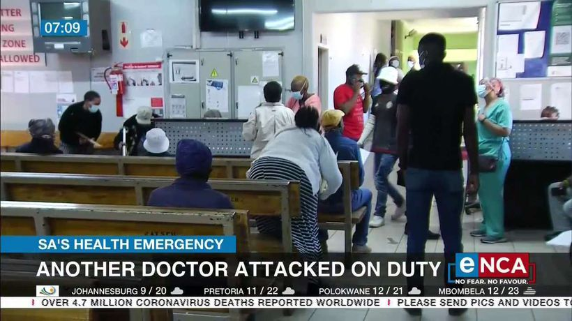 Another doctor attacked on duty