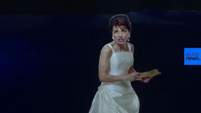World News - Maria Callas returns to opera stage in hologram form