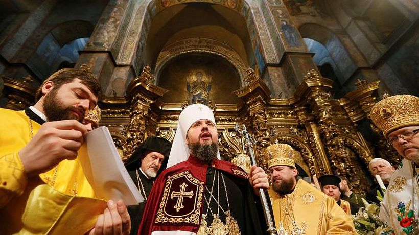 World News - Ukrainian Orthodox Church inaugurates first leader