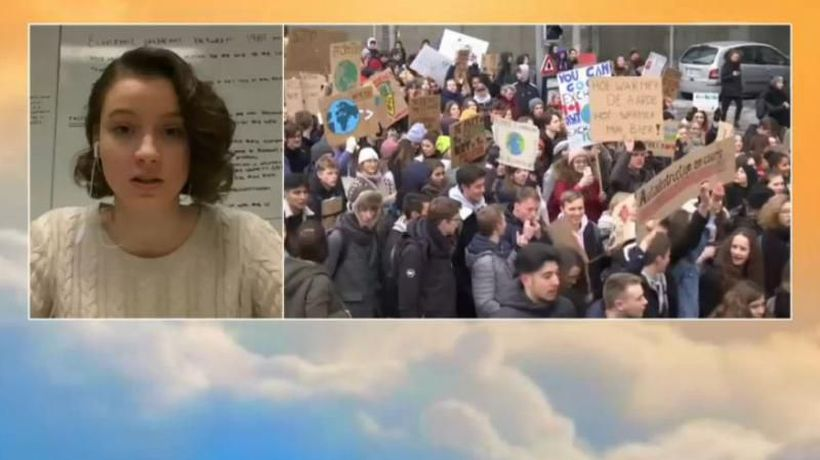 Good Morning Europe - Belgium Student Climate Change Protests - Act VI
