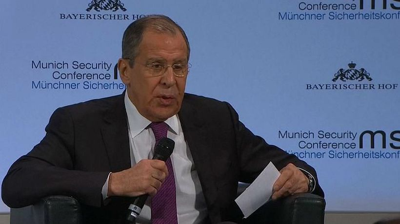 World News - Watch: Lavrov mistakenly calls British defence secretary 'minister of war'