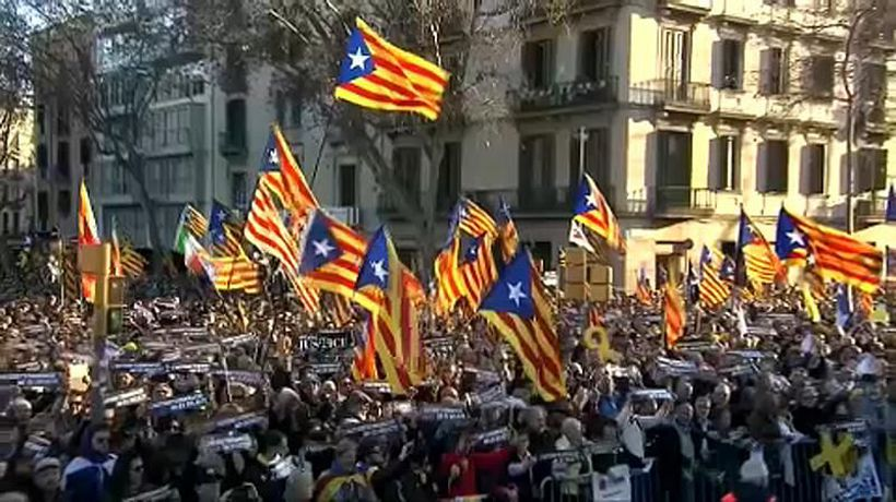 World News - Massive Catalan independence rally in Barcelona
