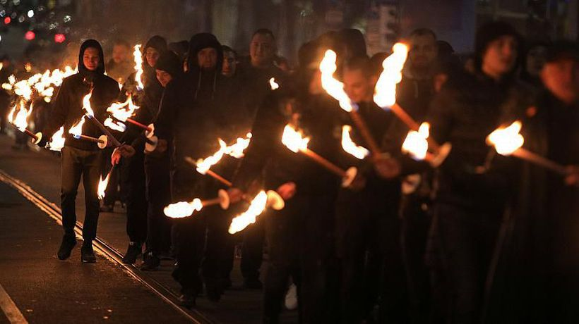 World News - 'Absolutely abhorrent': Far-right march in Sofia to honour pro-Nazi general