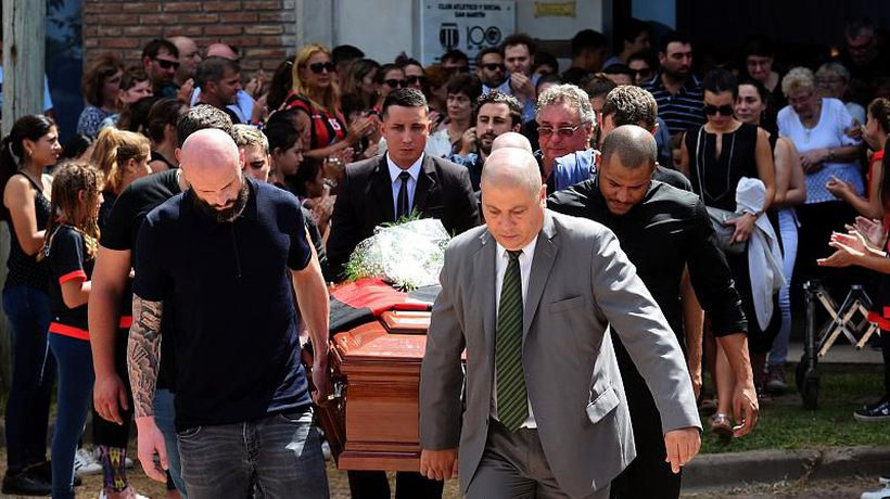 World News - Funeral in Argentina for Premiership football player Emiliano Sala