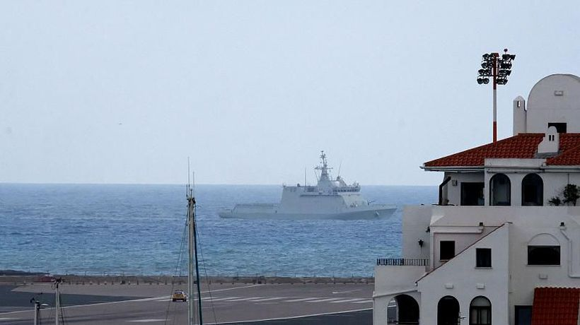 World News - Tensions flare up as Spanish warship orders boats move from UK-controlled Gibraltar waters