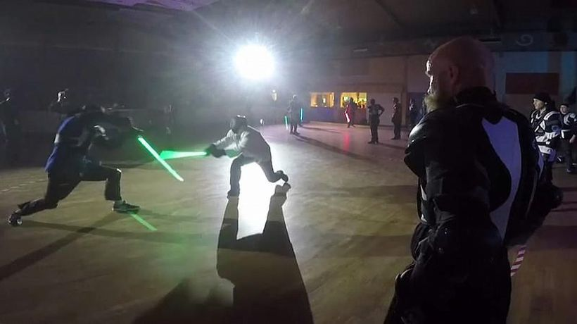 World News - The force awakens in France as lightsaber duelling becomes official sport