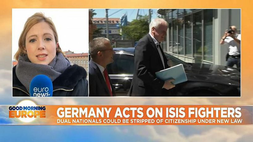 Good Morning Europe - Germany proposes new laws on terror fighters - but those already in custody will not be covered