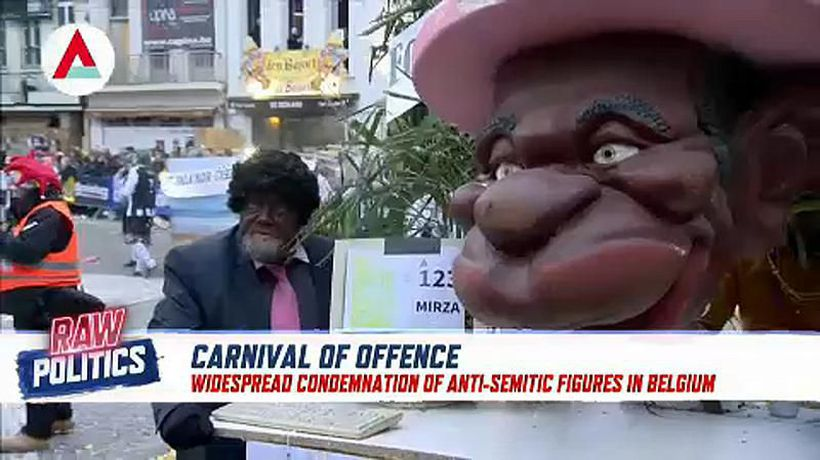 Raw Politics - Parade politics: Are Flemish carnivals offensive or satire?︱Raw Politics