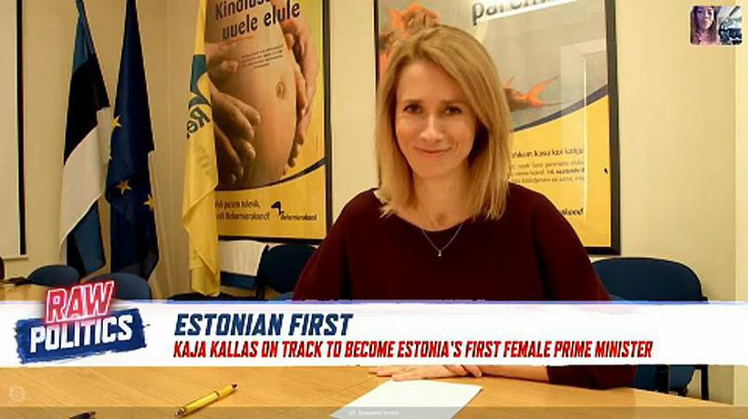 Raw Politics - Estonia's new PM? Interview with Kaja Kallas︱Raw Politics