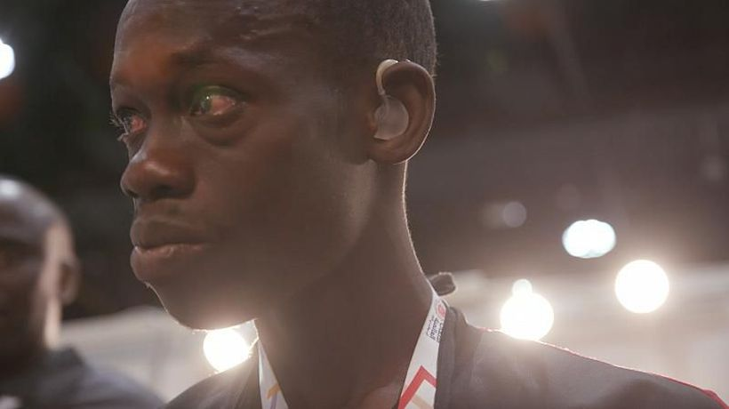 World News - VIDEO: Senegalese athlete hears for the first time at Abu Dhabi's Special Olympics