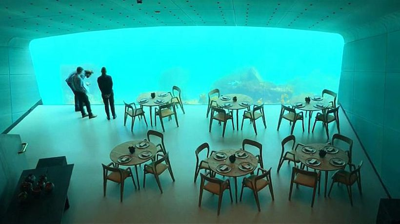 World News - Making waves: Europe's first underwater restaurant opens in Norway