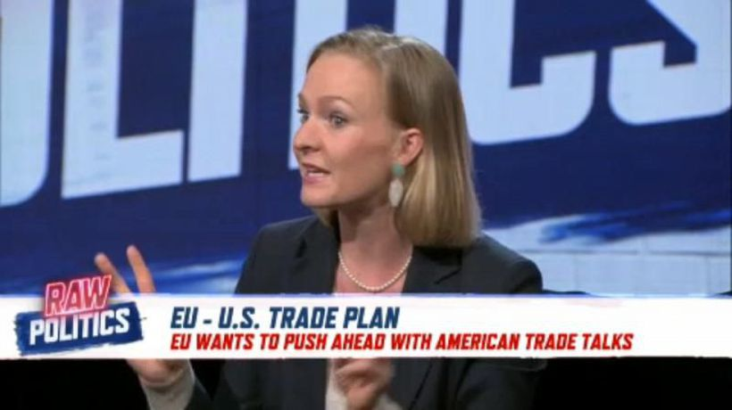 Raw Politics - EU and US proceed with transatlantic trade negotiations