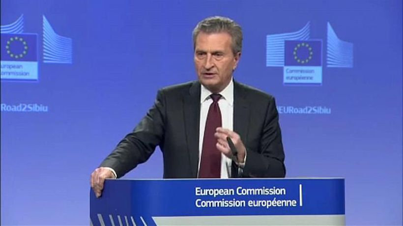 Brussels Bureau - Günther Oettinger asks EU to consider a veto against Italy-China deal