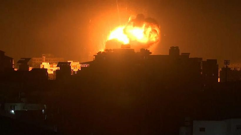 World News - Israel launches air strikes on Gaza over missile attack