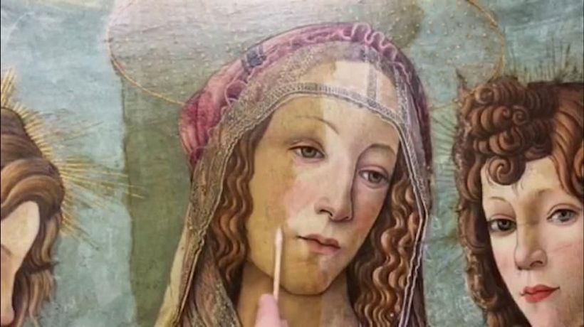 World News - Botticelli 'copy' turns out to be the real deal after clean-up