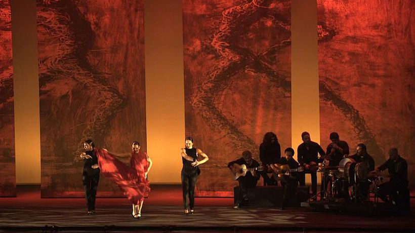 Inspire Middle East - Flamenco legend Sara Baras performs to a sell-out crowd in Abu Dhabi