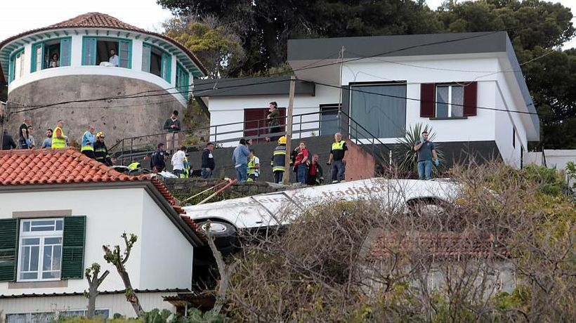 World News - At least 29 people killed in tourist bus crash in Madeira, Portugal