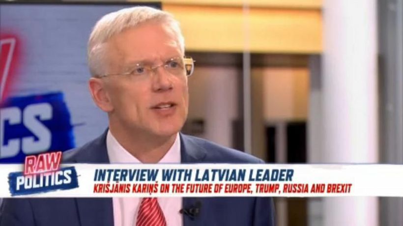 Raw Politics - Latvian prime minister discusses growing concerns in the EU