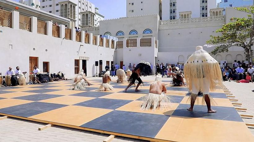 Inspire Middle East - Artists tackle social issues at Sharjah Biennial